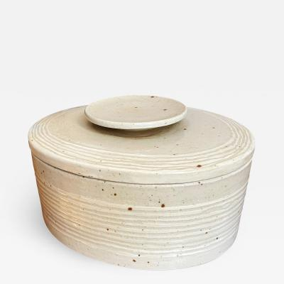 Eva St hr Nielsen Lidded Stoneware Box by Eva Staehr Nielsen for Royal Copenhagen