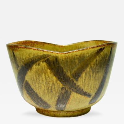 Eva Staehr Nielsen Massive Stoneware Bowl by Eva Staehr Nielsen for Saxbo