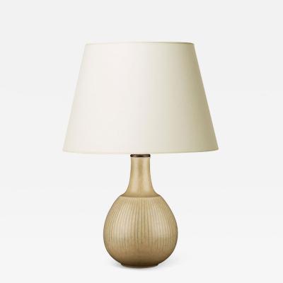 Eva Staehr Nielsen Table lamp in pale citron by E Staehr Nielsen