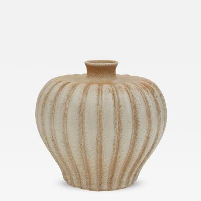Evald Dahlskog Bo Fajans Pottery Vase Designed by Evald Dahlskog