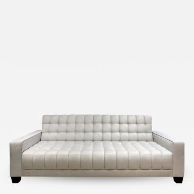 Evan Lobel Lobel Originals Box Tufted Sofa Made to Order
