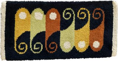 Evelyn Ackerman Abstract Mid Century Wool Rug