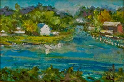 Evelyn Faherty Canal House Lumberville
