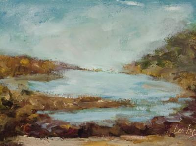 Evelyn Faherty Summer on the Delaware