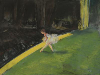 Everett Shinn The Yellow Dancer