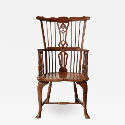 Exceptional 18th Century Windsor Armchair