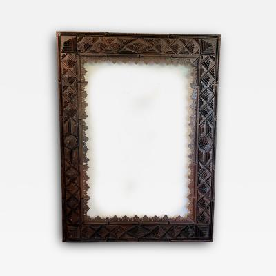 Exceptional 19th Century Tramp Art Frame