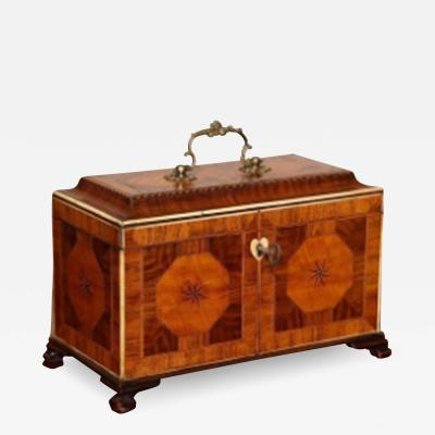 Exceptional George III Tea Caddy