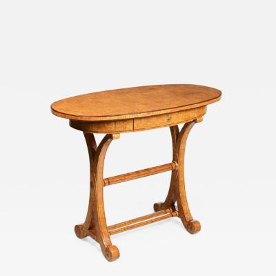 Exceptional Petit Biedermeier Writing Table