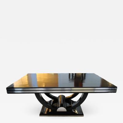 Expandable Art Deco Dining Table ca 1930
