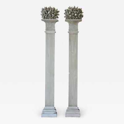 Exquisite Pair Of Louis XVI Period Pilasters Columns