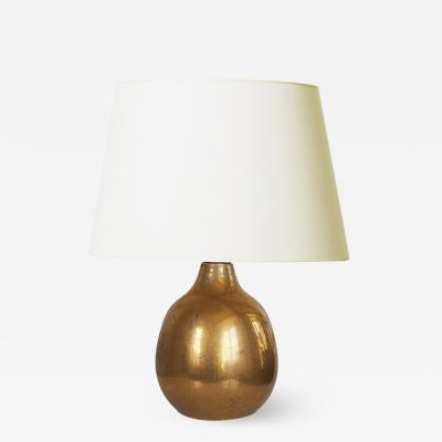 Exquisite Petit Gilded French Lamp