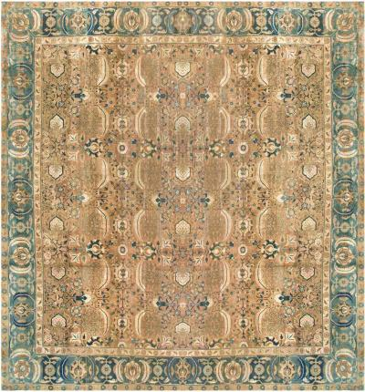 Extra Large Antique Indian Rug