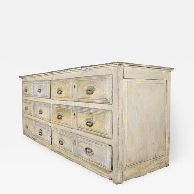 Extra Large Painted Late 17th Century Tuscany Sideboard circa 1600s Italy
