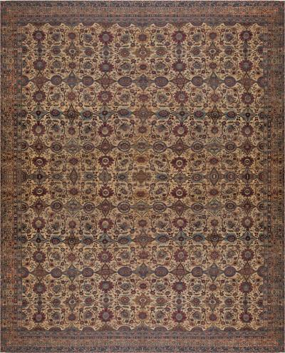 Extra Large Persian Kirman Antique Rug