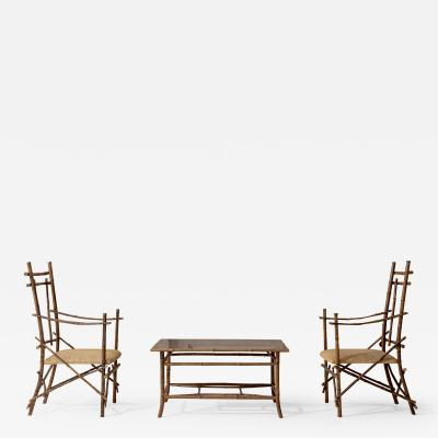 Extraordinary Italian Bamboo Set