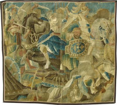 Extremely Fine Antique Classical European Tapestry