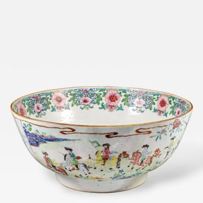 Extremely Rare Dutch Embassy Punch Bowl