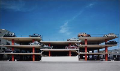 Ezra Stoller Miami Parking Garage Robert Law Weed and Associates Miami Fl