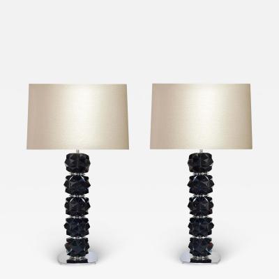 FDN II Rock Crystal Lamps by Phoenix