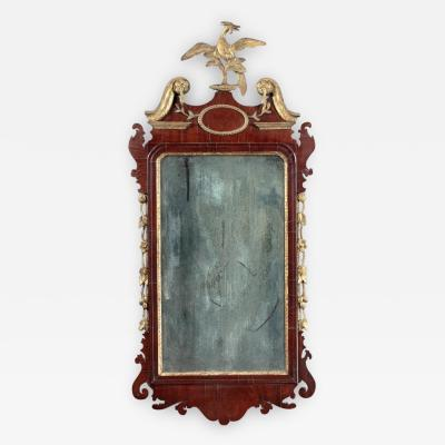 FEDERAL LOOKING GLASS Made or Sold by William Wilmerding