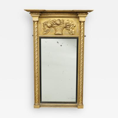 FEDERAL MIRROR WITH CARVED PANEL