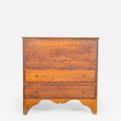 FINE PAINTED BLANKET CHEST