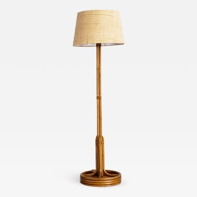 FRENCH BAMBOO FLOOR LAMP