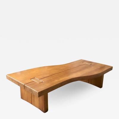 FRENCH ELM LOW TABLE BY MAISON REGAIN