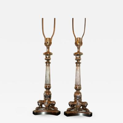 FRENCH EMPIRE STYLE TABLE LAMPS