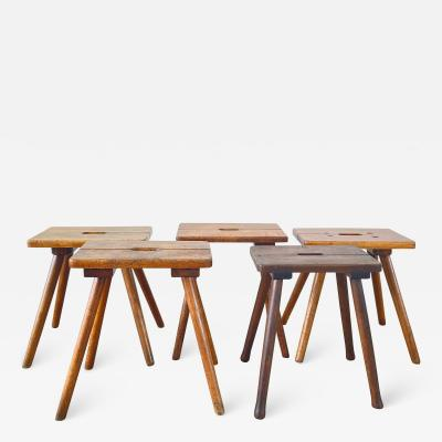 FRENCH PRIMITIVE STOOLS