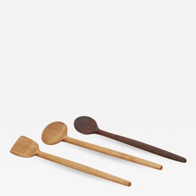 Fabian Fischer Set of 3 Wooden Spoons by Fabian Fischer