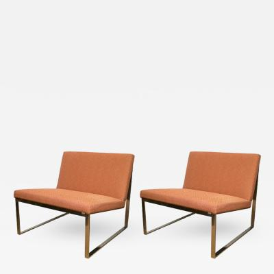 Fabien Baron Pair of B2 Chairs by Fabien Baron for Bernhardt