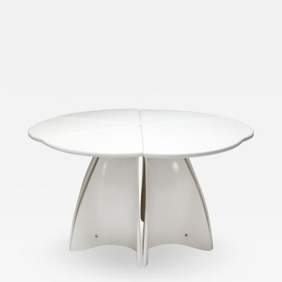 Fabio Lenci Fabio Lenci post modern petal dining table 1960s