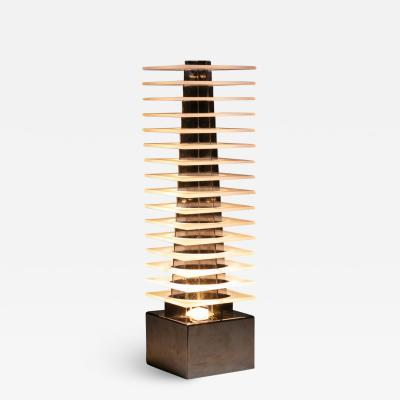 Fabrizio Cocchia Ziggurat Table Lamp by Fabrizio Cocchia for New Lamp