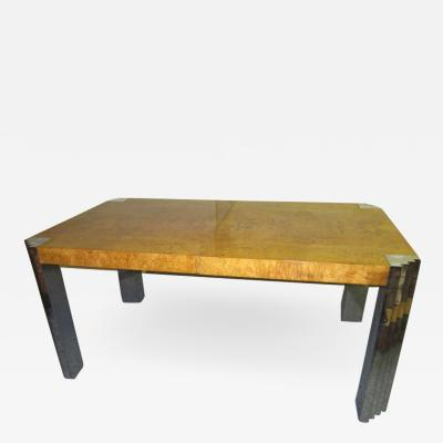 Fabulous Burled Olivewood Dining Table