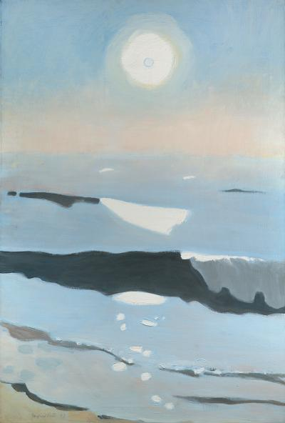 Fairfield Porter Sun Rising Out of the Mist