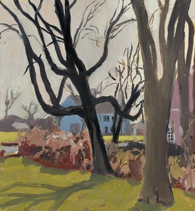 Fairfield Porter The Black Tree