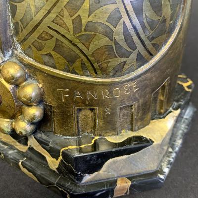 Fanny Rozet Salammb by Fanny Rozet France bronze circa 1920s