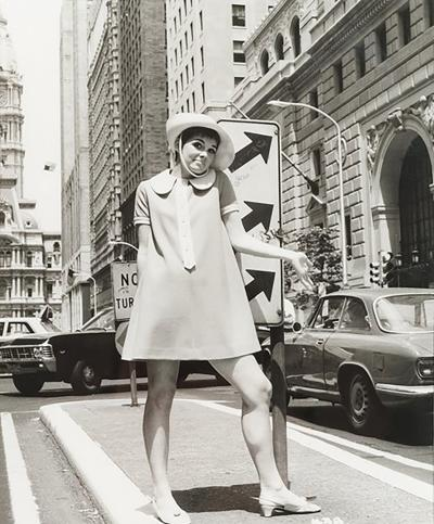 Fashion photography from the 60s