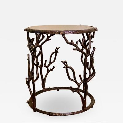 Faux Bois Occasional Table
