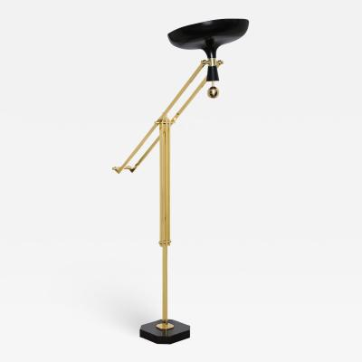Fedele Papagni Articulating Floor Lamp by Fedele Papagni