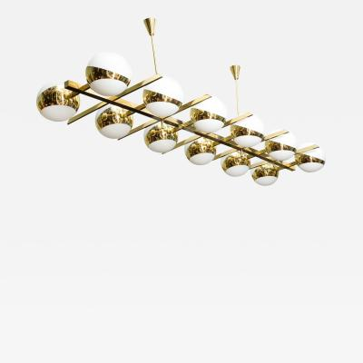 Fedele Papagni Monumental 12 Light Chandelier by Fedele Papagni