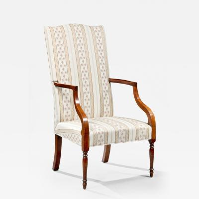 Federal Inlaid Lolling Chair