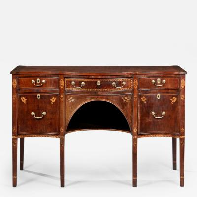 Federal Inlaid Serpentine Sideboard