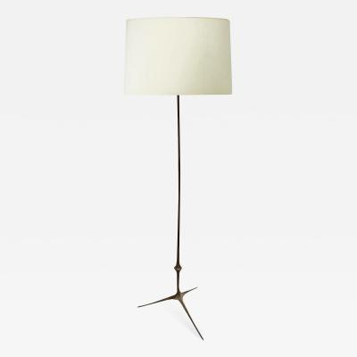 Felix Agostini Felix Agostini refined bronze standing lamp