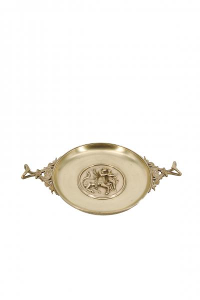 Ferdinand Barbedienne Coupe Tazza Chiron educating Achilles Bronze by Ferdinand Barbedienne