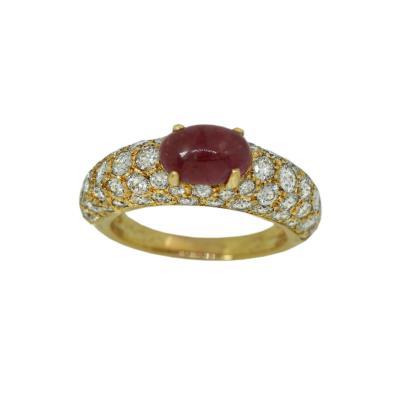Ferdinand Cartier Cartier Ruby Diamond Ring