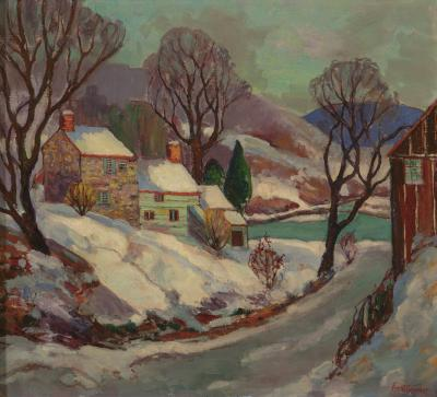 Fern Isabel Coppedge Lumberville Winter