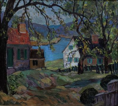 Fern Isabel Coppedge Spring by the Delaware River